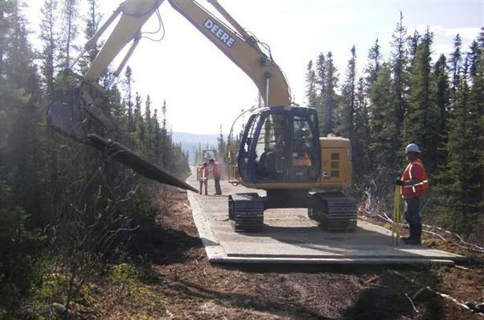 AK: Eagle Ice Jam Emergency Response Project