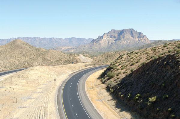 AZ: US 60 Gonzales Pass Reconstruction Project