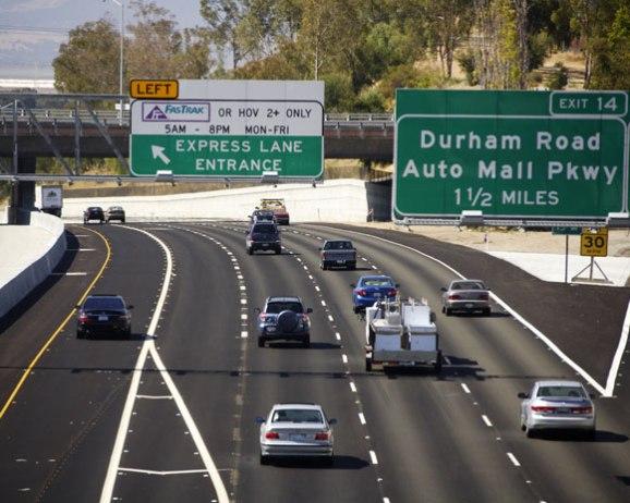 Express Lane California >> Ca Sunol Grade Express Lane Project America S