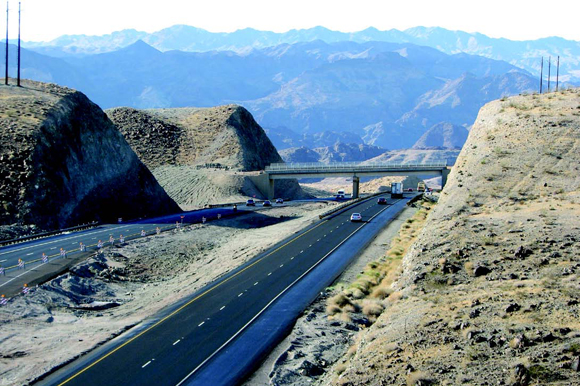 AZ: US 93 Hoover Dam to Mile 17