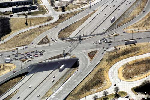 I-35/87th Street/US-69 Interchange