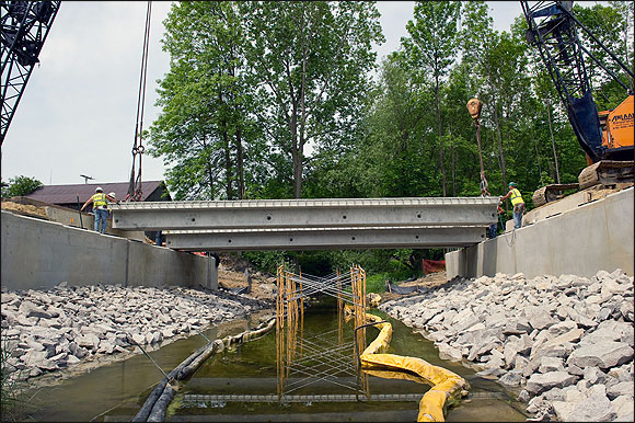 MI: M-25 Bridge Replacement over White River Project