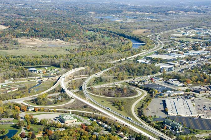 MI: I-196 Baldwin Street Project