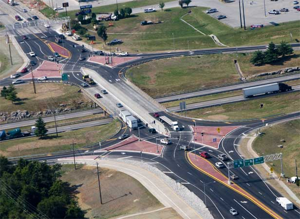 MO: Diverging Diamond Interchange