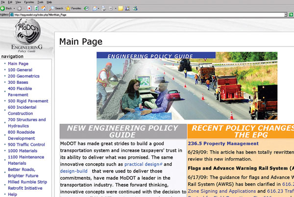 MO: Engineering Policy Guide