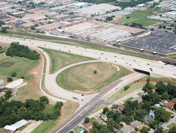 OK: I-235 Oklahoma City Interchange Project