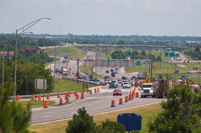 OK: I-244 Tulsa Smart Work Zone Project