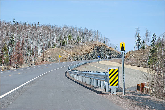 MN: Highway 61 Split Rock Rehabilitation