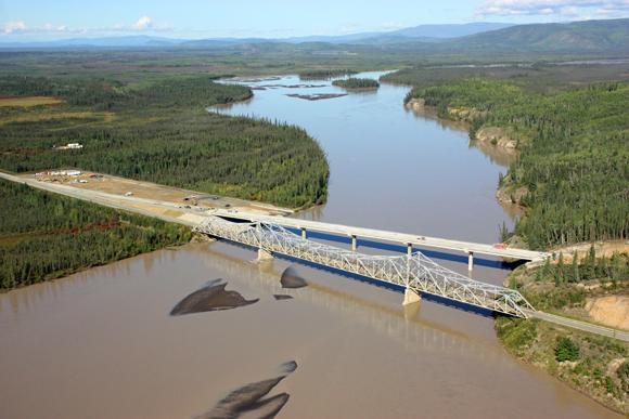 AK: Alaska Highway: Tanana River Bridge Project