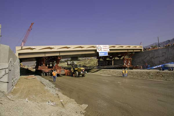 Use of Innovative Technologes on 4500 South Bridge Replacement Project