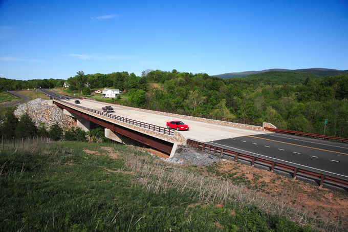 VA: Jeremys Run Bridge Project