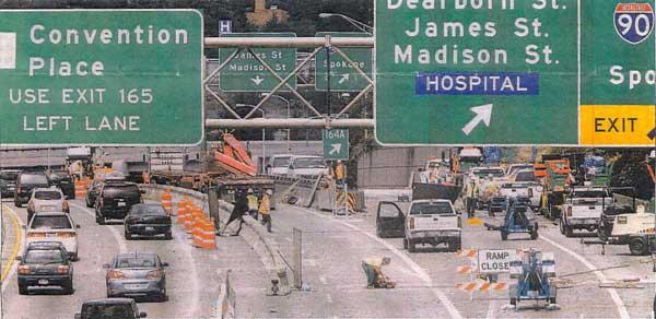 I-5 Spokane Street to I-90 Bridge Repair