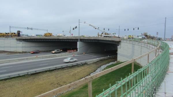 Indiana I-465-Allisonville Road Interchange
