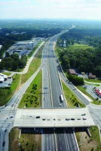 Georgia I-20 East CD lanes