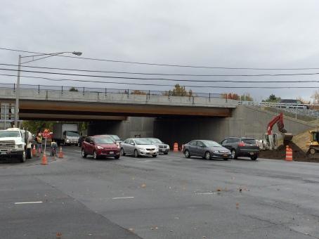 Albany Shaker Road Traffic Under Bridges - AADT 30000