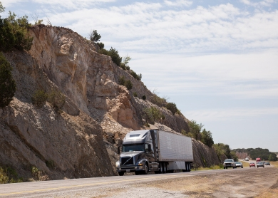 Complete - I-35 Arbuckle rock slide stabilization