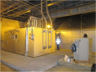 Dehumidification Plant Room
