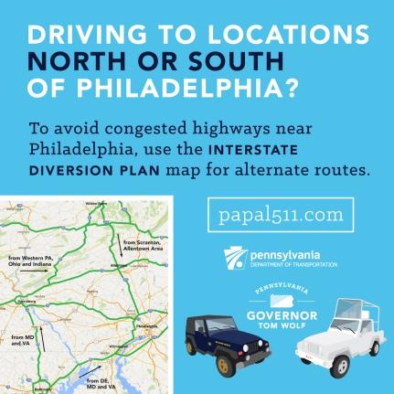 fbook pope tip 5 interstate diversion plan