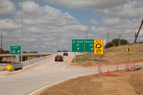 I-235 and Harrison Ave._Open