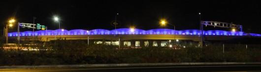 I-5 Woodburn Overpass lighting