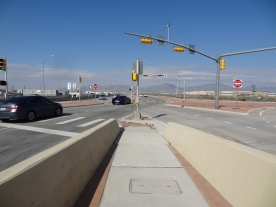 LP 375 at SPUR 601 (Diverging Diamond Intersection)