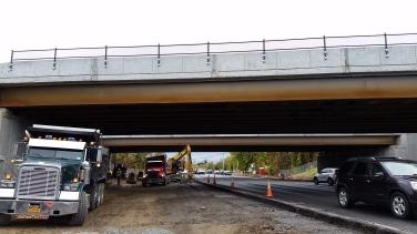 Photo - Widening Albany Shaker Road Under Bridges