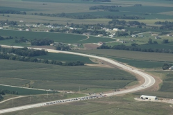 Wahoo Expressway Aerial Photo Ribbon Cutting