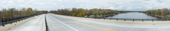 M-231 Road and Bridge project. Road right before the opening