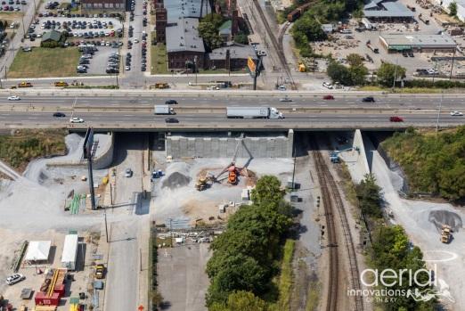 Aerial Pre-Closure Work
