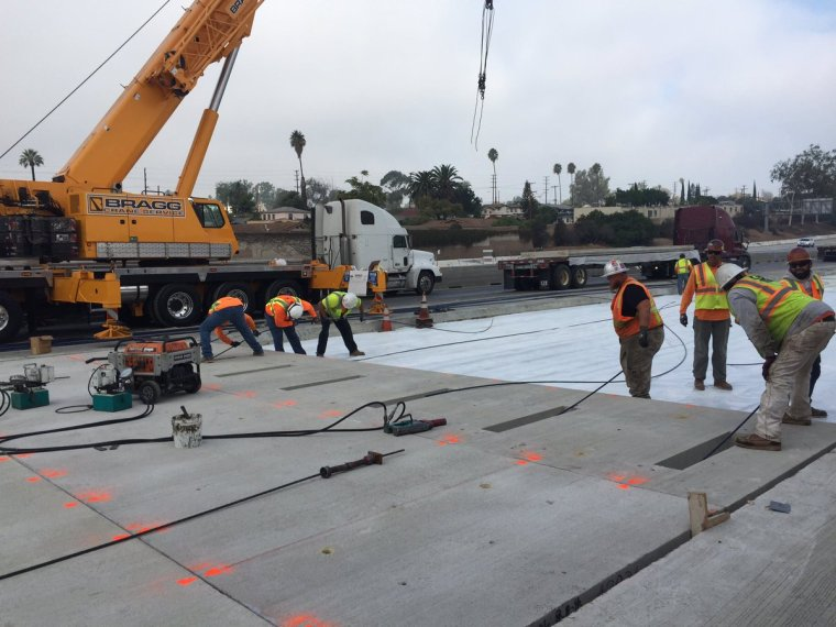 California DOT's Precast Concrete Roadway Repair Methodology