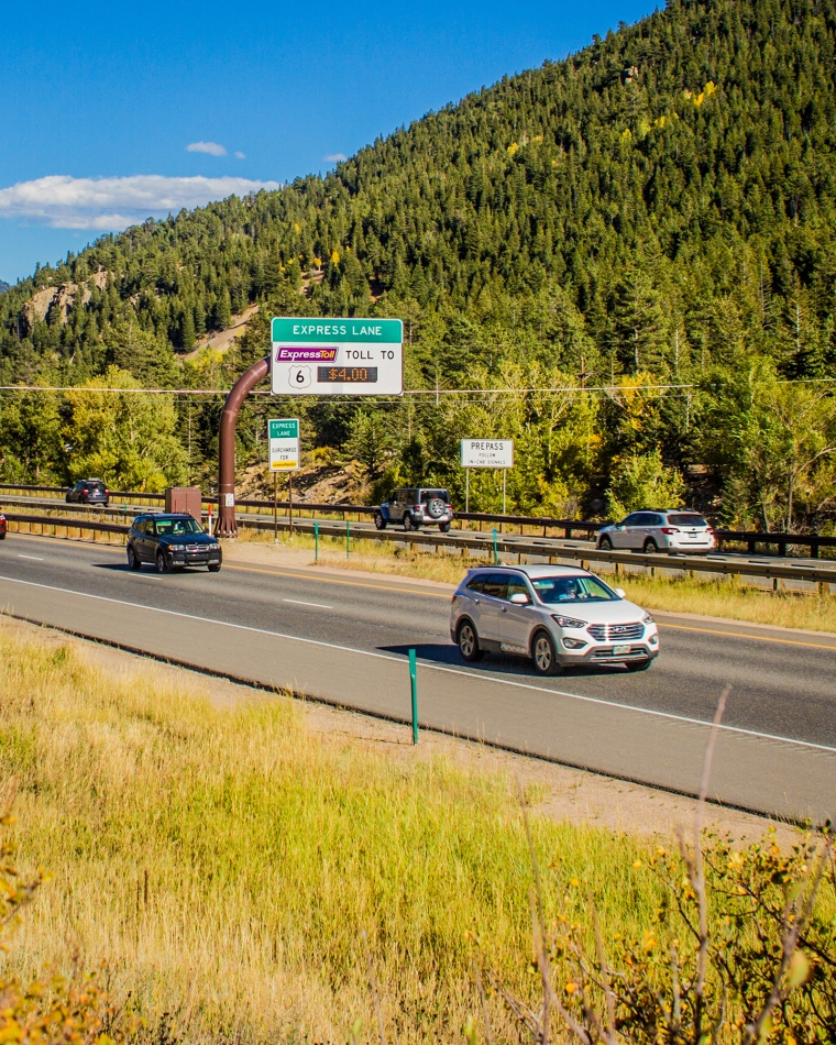 Colorado DOT's I-70 Mountain Express Lane