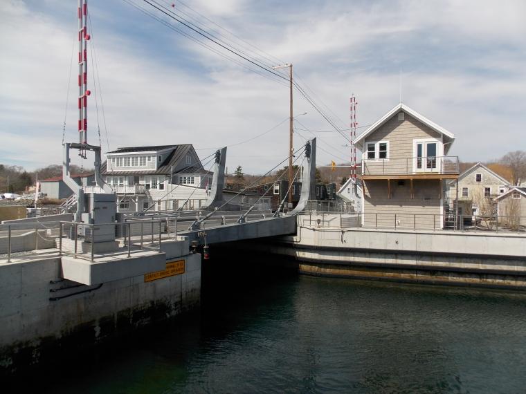 Gut Bridge in South Bristol--Maine DOT