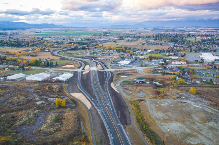Montana DOT's Kalispell Bypass - US 93 Alternate Route