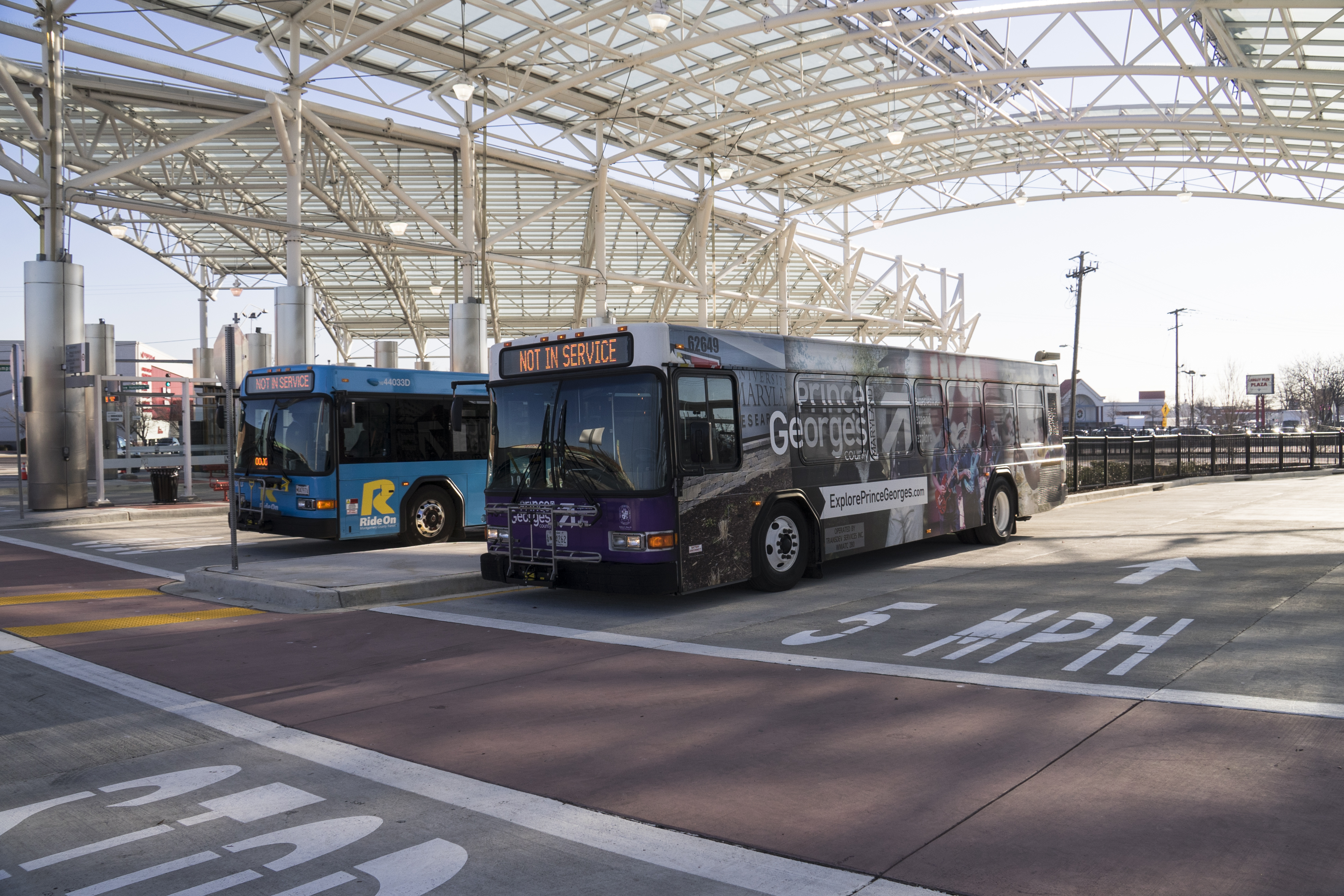 Maryland Department Of Transportation Takoma Langley Crossroads Transit Center America S Transportation Awards